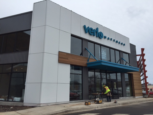 Verlo Mattress will be located next to Whole Foods Market