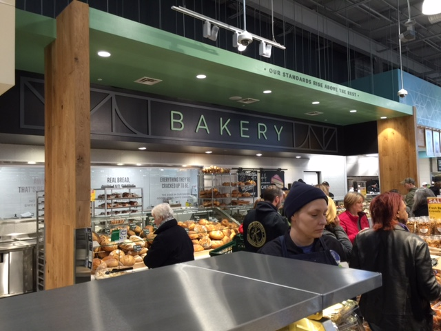 In-store bakery