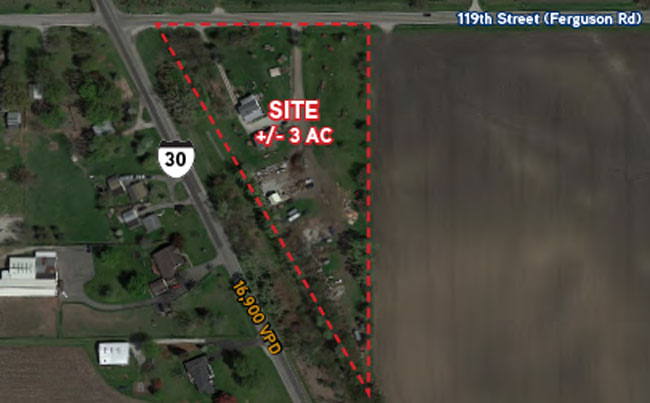 3 Acre Development Site On Lincoln Highway Hsa Commercial